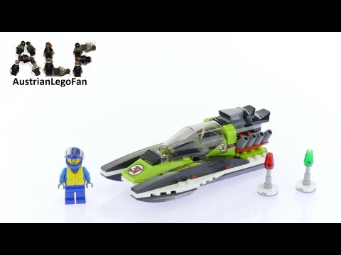 Lego City 60114 Race Boat - Lego Speed Build Review