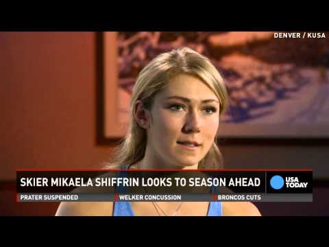 Skier Mikaela Shiffrin motivated by past successes