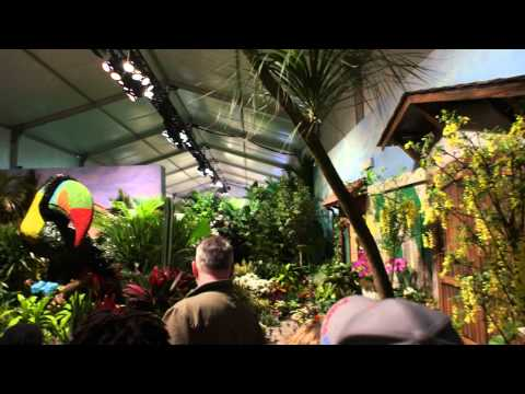 2012 Macy's Flower Show - Inside the outdoor pavilion