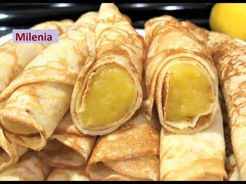 НОВИНКА!!! Французские ЛИМОННЫЕ БЛИНЫ. Это то, что Вы долго искали для Завтрака Выходного Дня!