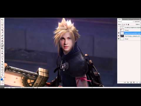 Mi Casting CineGame #20 - Logan Lerman como Cloud Strife de Final Fantasy VII
