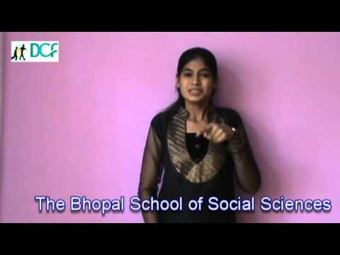 Dcf Bhopal- Advocacy Training For The Deaf 2013 video