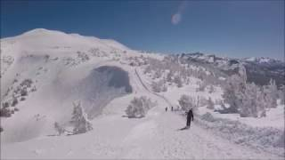 Best runs from EPIC Mammoth 2017. Hemlocks & Sherwins (inbounds vs out)