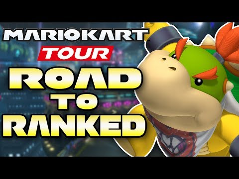 Mario Kart Tour - Is F2P 25,000+ Possible in Bowser Jr. Cup? ROAD TO RANKED!