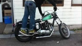 1969 Harley Davidson XLCH Sportster - 1969 ハーレー アイアンショベル