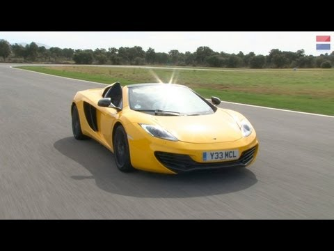 2013 Mclaren   Spider on 2013 Mclaren Mp4 12c Spider   First Drive Review   Car And Driver