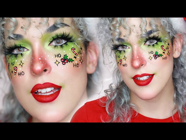 HOLIDAY FRECKLES  Cute Christmas Makeup Tutorial