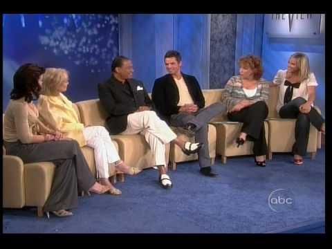 Jason Thompson & Billy Dee Williams on The View Video
