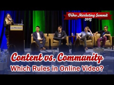 The Online Video Battle of Content Vs. Community: Which Rules?