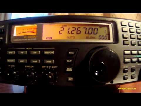 21267khz,Ham Radio,WG3J(Pittsville,United States, MD) 14-25UTC.