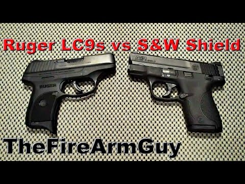 Ruger LC9s vs S&W M&P Shield - TheFireArmGuy