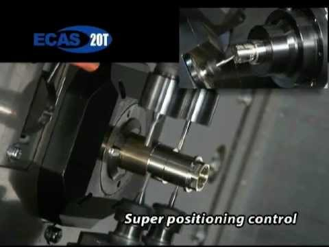Star ECAS-20T Swiss Lathe