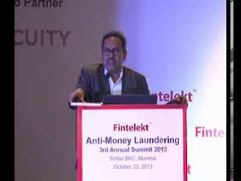 G Jaganmohan Rao, PCGM, Reserve Bank of India, Special Address, Part One, Fintelekt AML Summit 2013