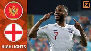 ENGELAND geeft SIGNAAL af aan ORANJE   Montenegro vs Engeland   Kwalificatie EK 2020   Samenvatting