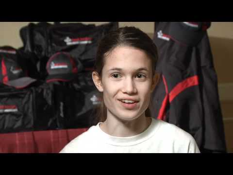 Julia Bos before Foot Locker CC Champs 2011