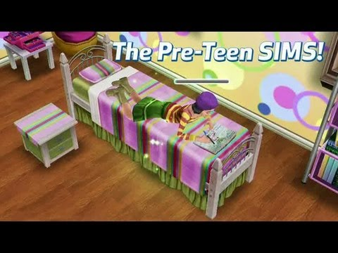 The Sims FreePlay : The Pre-Teen Trailer - YouTube