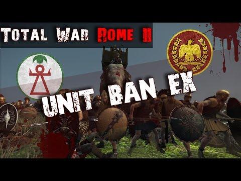 Elephant Rampage in Alexandria!   Unit Ban EX R1G1   Total War Rome II Tournament