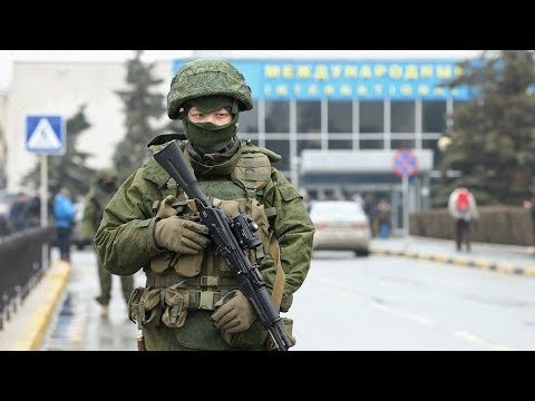 Russia Invades Crimea, Ukraine