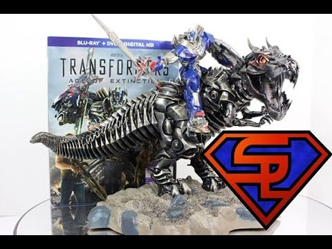 Transformers Age of Extinction Grimlock Statue Transformers Age of Extinction