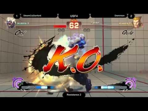 Ultra Street Fighter IV @ Resistance 2 - Finals (Top 3 Matches)