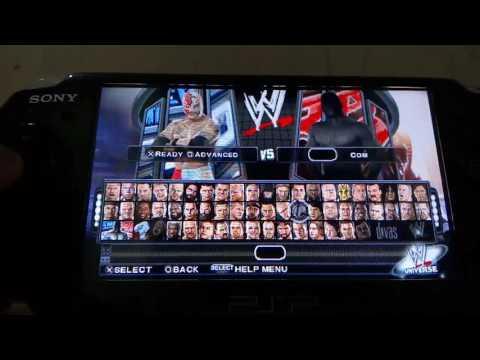 SvR 2011 PSP Gameplay - Rey Mysterio Vs CM Punk