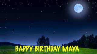 Maya - Moons - Happy Birthday