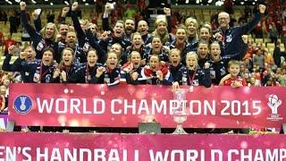Netherlands VS Norway Handball final Women's  World Championship Denmark 2015