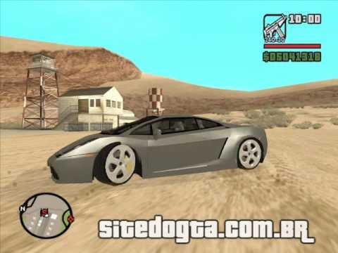 Lamborghini Gallardo - GTA San Andreas