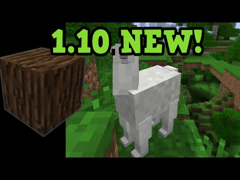 Minecraft 1.10 NEW FEATURES