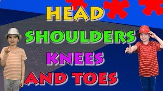Head Shoulders Knees and Toes - Song for Kids