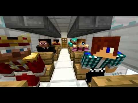 Minecraft: Небольшое Видео О Падении Самолета