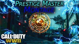 Call of Duty WW2 Master Prestige Montage (Weektage)