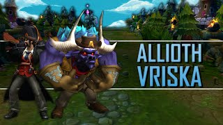 Allioth Vriska - Aventuras em Summoner's Rift