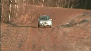 Foresterclub.lt with Subaru Forester in automoto parke. Vilmio trip