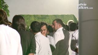 Farhan Akhtar, Javed Akhtar, Tabu and Other Bollywood Celebs At Farooq Shaikh
