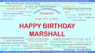 Marshall   Languages Idiomas - Happy Birthday