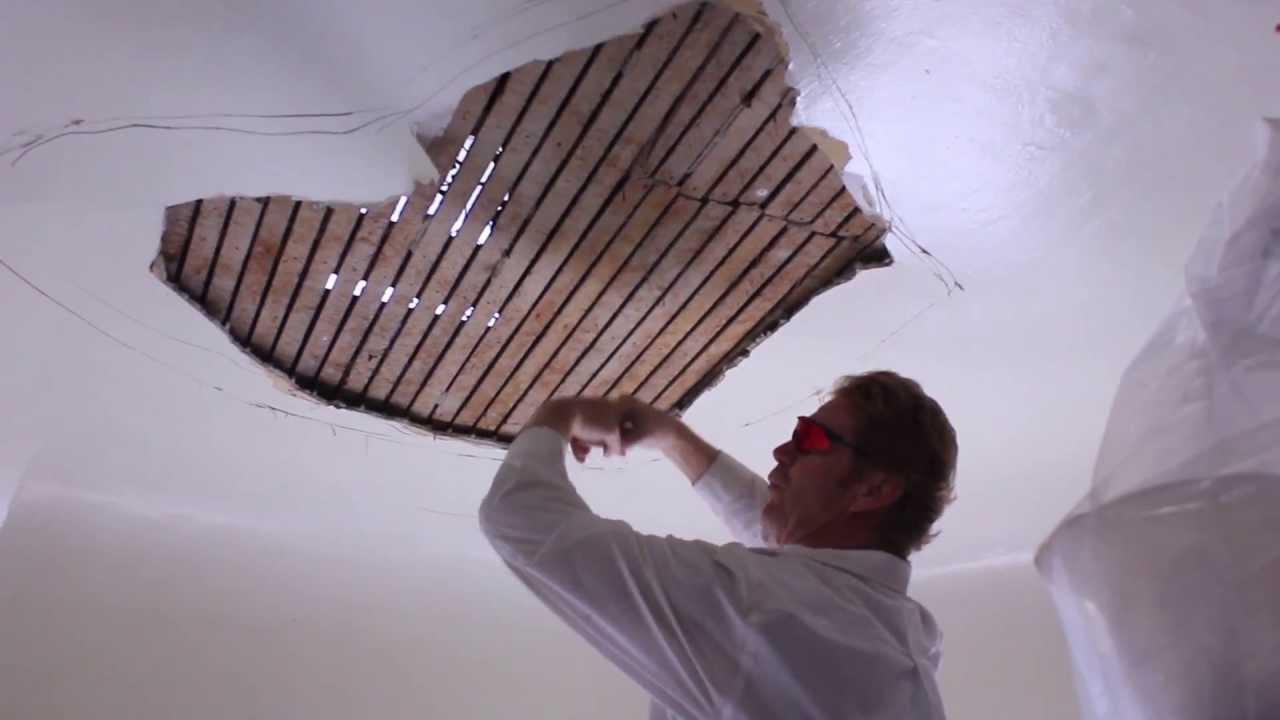 Diy Home Ceiling Repairs Diy Interior Ceiling Repairs Youtube