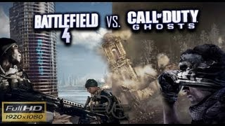 Battlefield 4 vs Call of Duty Ghost Graphics Comparison 1080p HD BUP
