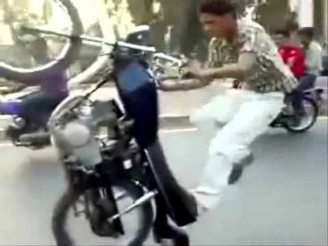 Super Bike Stunt From India