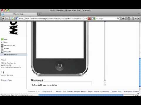0 Mobile Web Site Generator