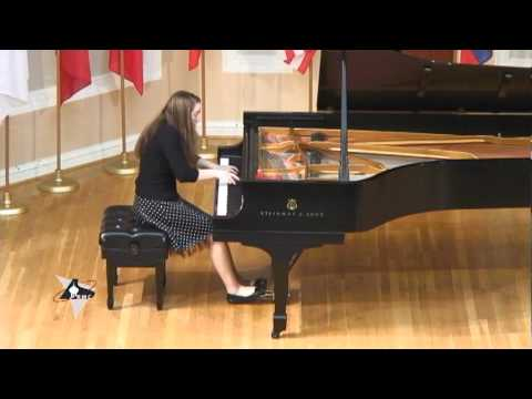 Chopin Etude op. 10 no. 4 by Rachel Breen (14 years old)