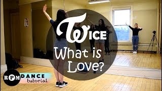 "Twice ""What is Love?"" Dance Tutorial (Chorus)"
