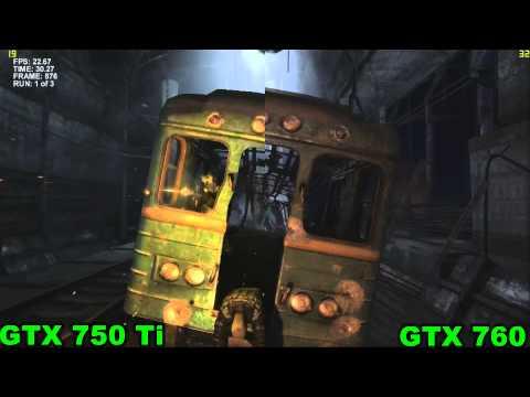 GTX 750 ti vs GTX 760 (test only)