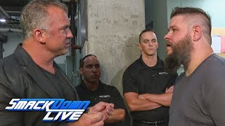 Shane McMahon bars Kevin Owens from the arena: SmackDown LIVE, July 16, 2019