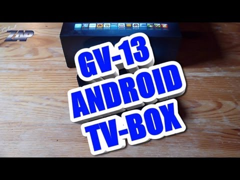 GV-13 Android 4.0.3 Ice Cream Sandwich TV-Box Review - 1080p Playback Merimobiles ColonelZap