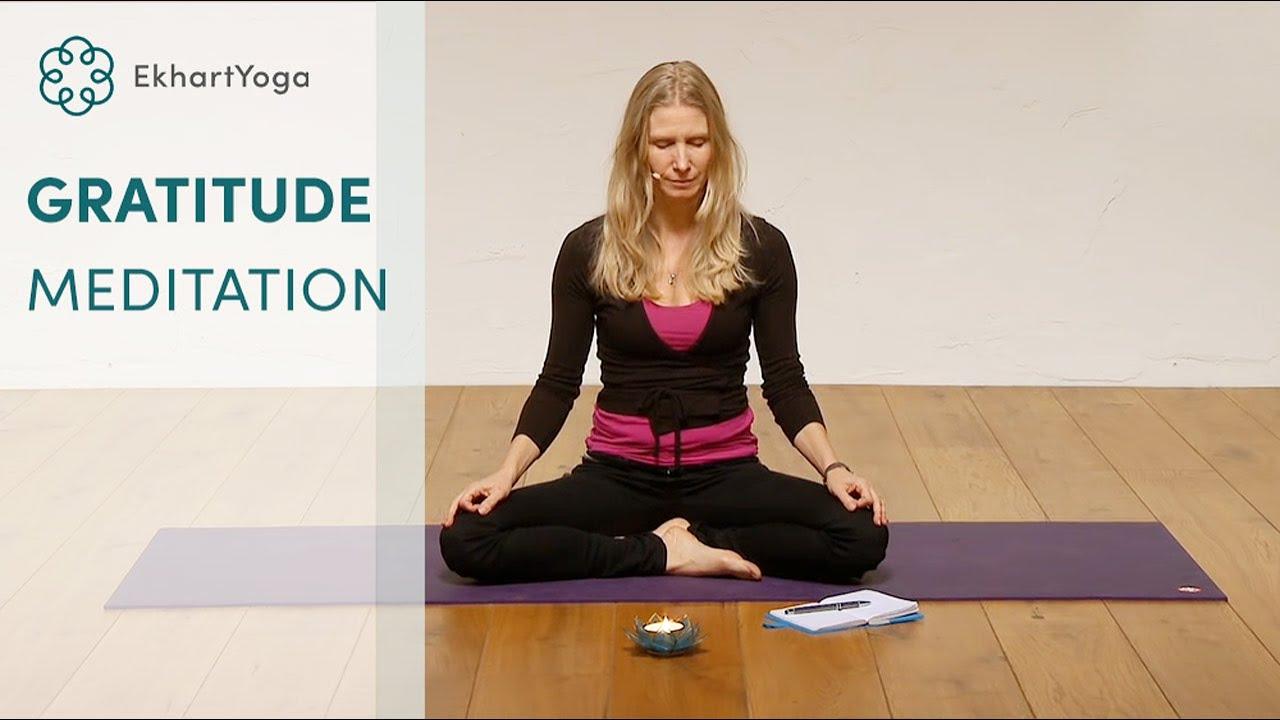 Daily gratitude meditation with Esther Ekhart
