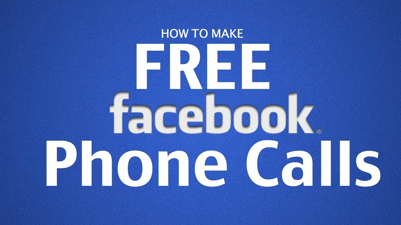 How To Make Free Phone Calls on Facebook with iPhone, iPad ...