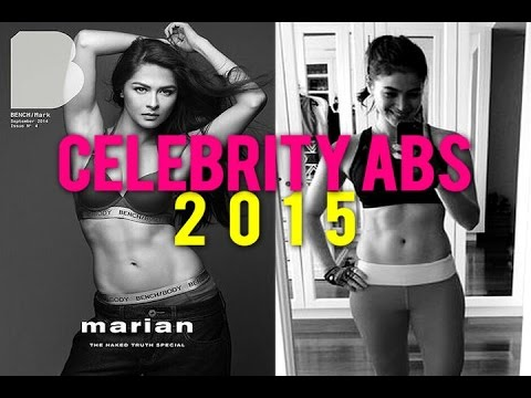 Celebrity Best Abs 2015 List