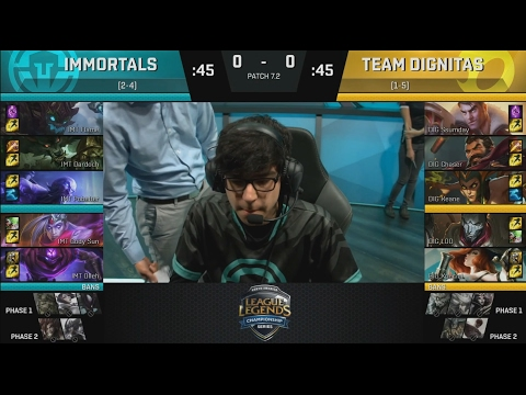 [RS] IMT (Dardoch Warwick) VS DIG (Chaser Graves) Game 1 Highlights - 2017 NA LCS Spring W4D1