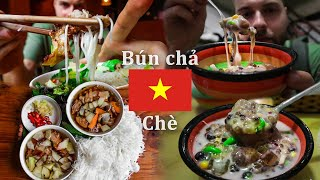 Vietnamese Food in Hanoi - the MOST DELICIOUS Dish (not Pho) and Dessert - MUST TRY | Hanoi